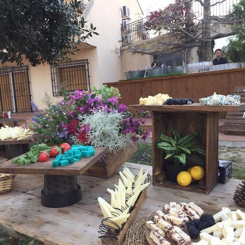 Mesas de quesos: Productos y Servicios de Degustos Charcuteria Tradicional