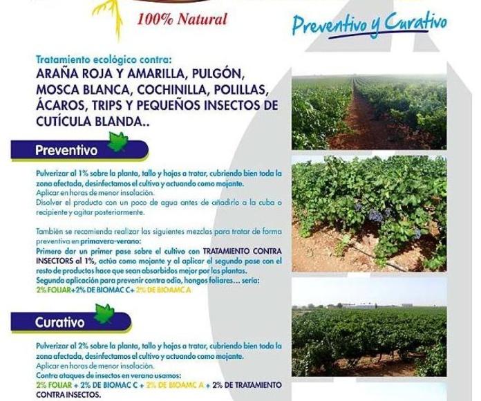 BIOMAC CONTRA INSECTOS FITOSANITARIO ECOLOGICO: Catálogo de Emiliano y Federico Rubio