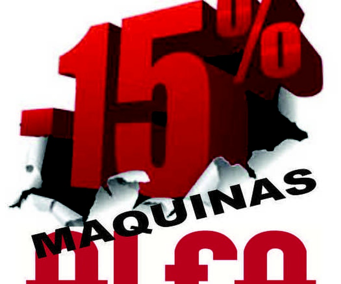 15% DESCUENTO MAQUINAS & REMALLADORAS ALFA