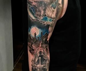 Full Sleeve Tattoo. Tatuaje realista Santander. Shull Tattoo. Tatuaje a color. Verger Tattoo. JR Verger