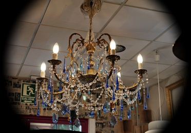 Lámpara de araña diseño Ruzafa Vintage