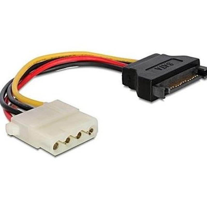 iggual Cable Alim. SATA(M) a Molex(H) 0.15Mts: Productos y Servicios de Stylepc