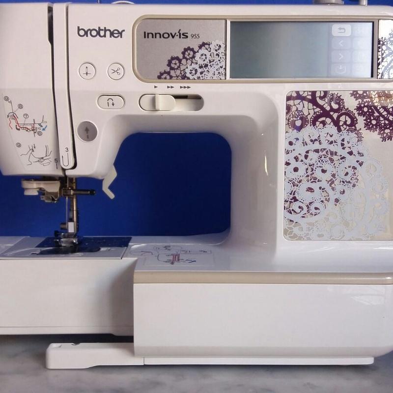 Brother: Servicios de Máquinas de coser JV