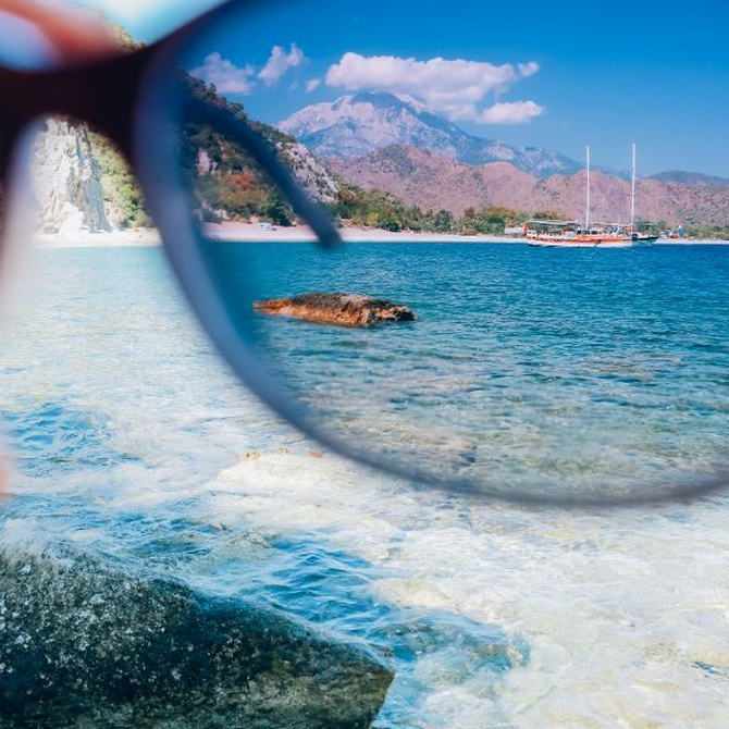 Las gafas de sol polarizadas