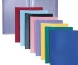 Carpetas de diferentes tamaños y colores