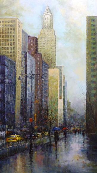 GL. Nueva York lluvioso.: CATALOGO de Quadrocomio La Casa de los Cuadros desde 1968
