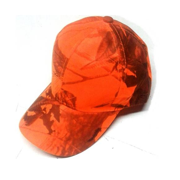 Visera reflectante camo camuflaje en color naranja: Tienda online de Artículos de Caza