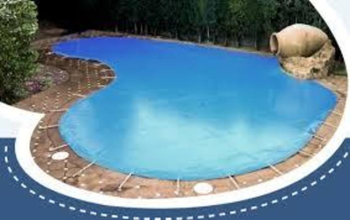 Lona de invierno para piscinas irregulares