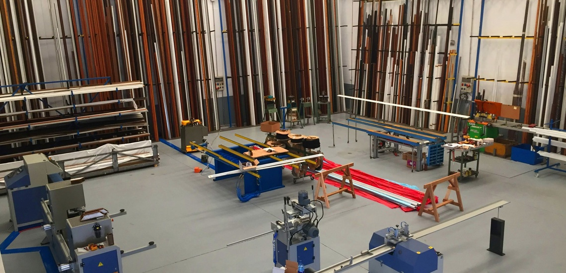 nuevas instalaciones para carpinteria de aluminio y pvc