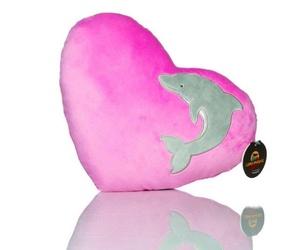 Cojín Corazón Delfín
