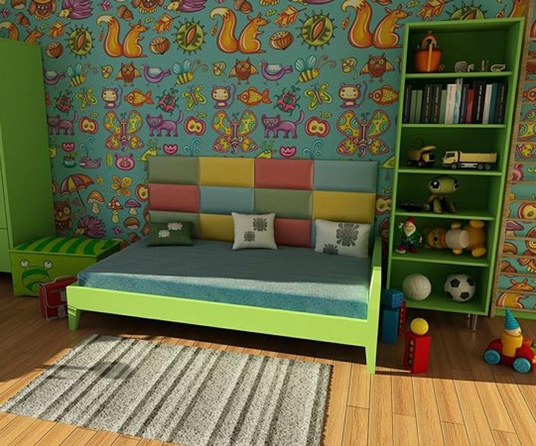 Ventajas de usar vinilos en la habitación de los más pequeños