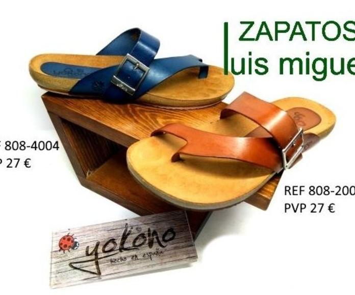 clancla de piel yokono super fresquita: Catalogo de productos de Zapatos Luis Miguel