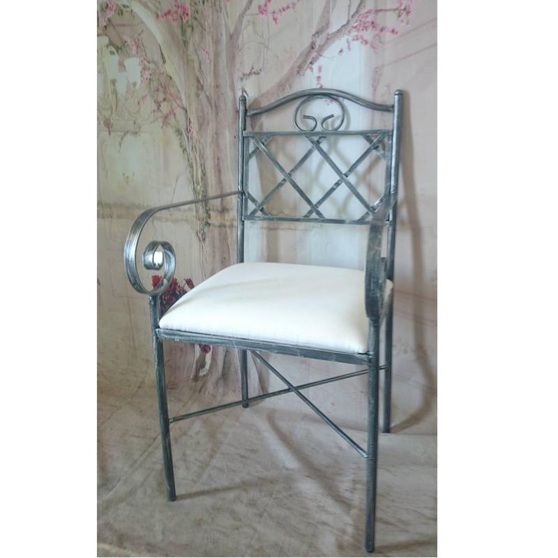 Silla Marsella: Catálogo de muebles de forja de Forja Manuel Jiménez