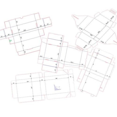 Diseños personalizados para cajas de embalaje