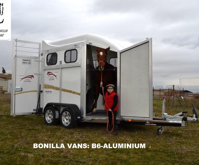 B6-ALUMINIUM: Modelos de Remolques Bonilla