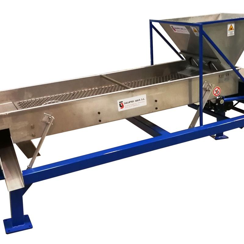Clasificadoras de Calibres Modelo Mixto 3 Calibres, con Variador de Velocidad