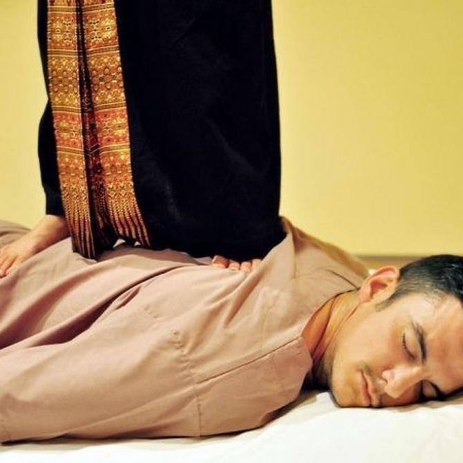 ¿En qué consiste un masaje tailandés?