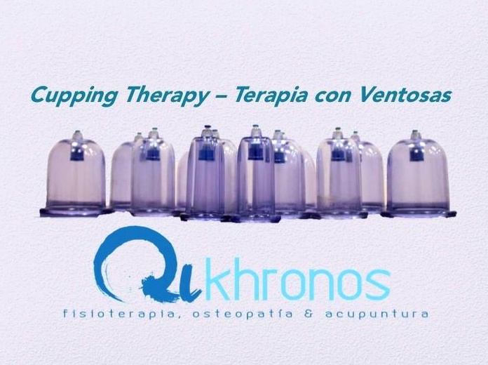 CUPPING THERAPY - TERAPIA CON VENTOSAS