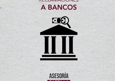 Reclamaciones a bancos