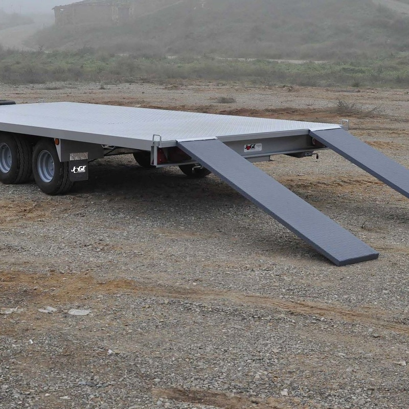 Plataforma de carga: Productos y Servicios  de Remolques JOGE