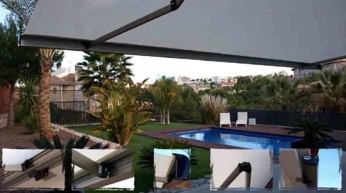 Instalacion de toldos  San Javier |Sevimad | Instalación de cubiertas de piscina San Javier