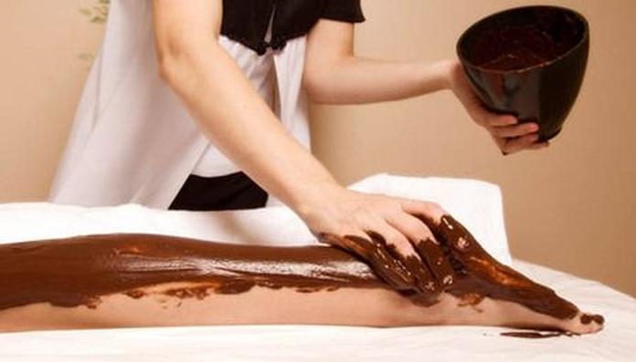 Envoltura de chocolate: Masajes y tratamientos de Masajes Miriam