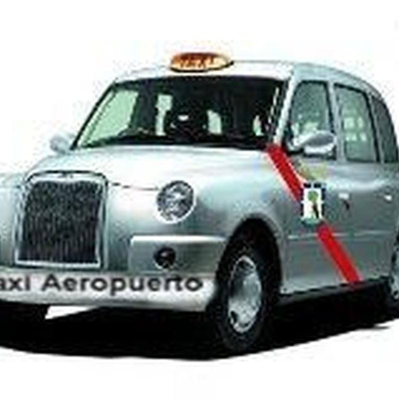 Taxi aeropuerto: Que ofrecemos de Radio taxi Madrid Aeropuerto