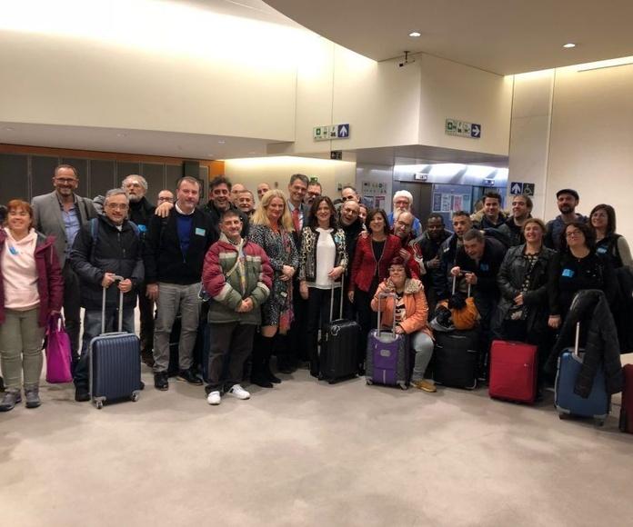 Asociación Domitila y  Aila Dependencia en Bruselas
