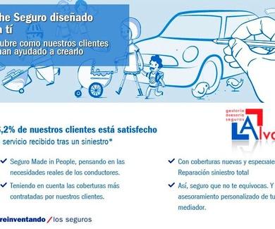 Reparación vehículo en caso de Siniestro Total y aplicación de una única franquicia para arañazos.