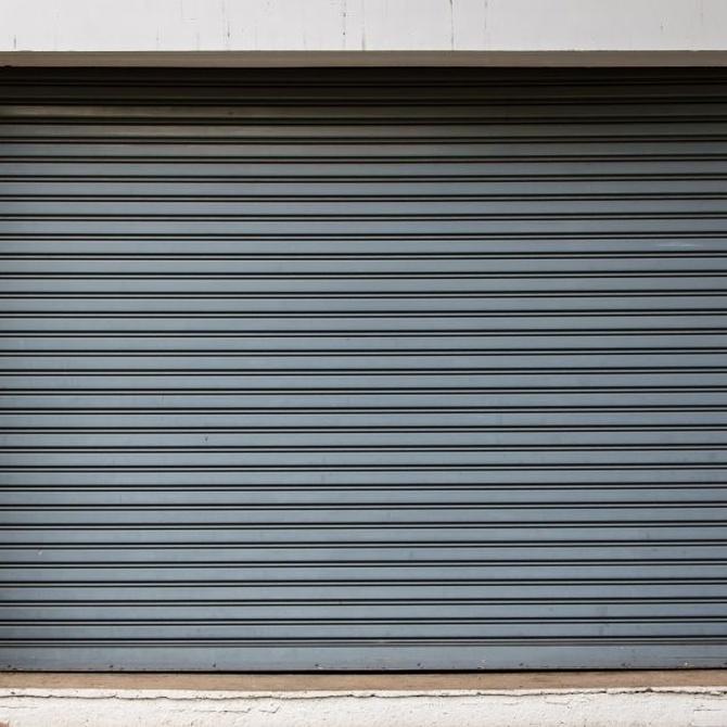 Los cierres metálicos mejoran el aspecto y la seguridad de cualquier negocio