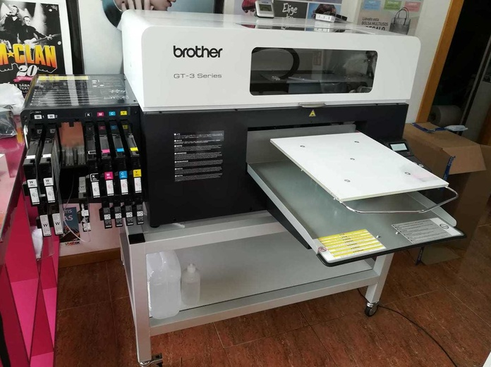 Impresora para textil