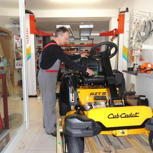 Reparación de maquinaria de jardinería en Cardedeu | Jardimec