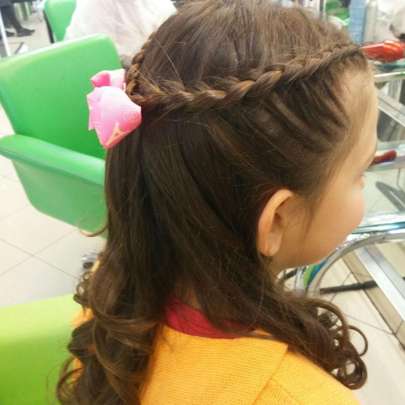 Peinados de comunión niñas