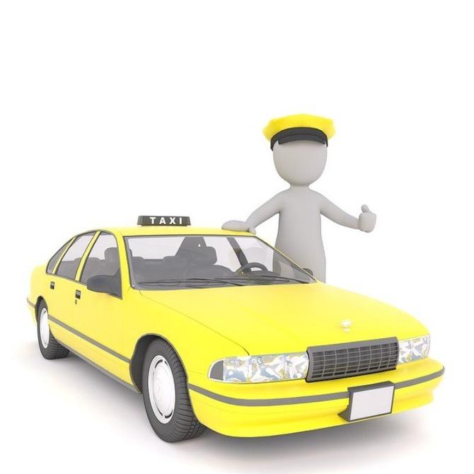 ¡Alucina con este conductor de taxis!