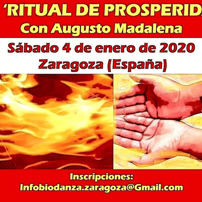 14º Ritual de Prosperidad en Zaragoza, con Augusto Madalena: CURSOS de Augusto Madalena