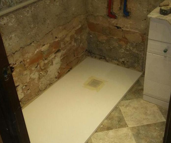 Cambio de bañera por plato de ducha en Móstoles