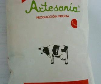 Botella leche fresca 1litro: Nuestros productos de Lácteos Artesanía