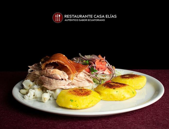 Hornado: Carta de Restaurante Casa Elías