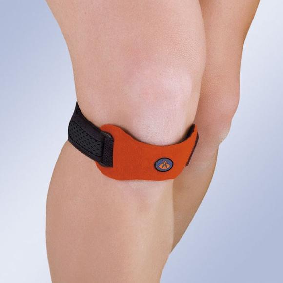 Soporte patelar con almohadilla de silicona: Productos y servicios de Ortopedia Delgado, S. L.