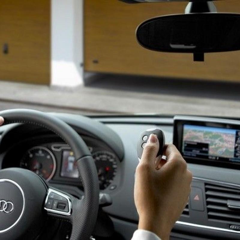 Mandos a distancia y llaves magnéticas para automatismos: Servicios de Puertas automáticas Odiel