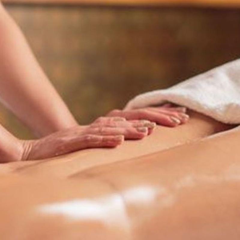Masajes drenantes: Nuestros servicios de Carpe Diem Clínicas