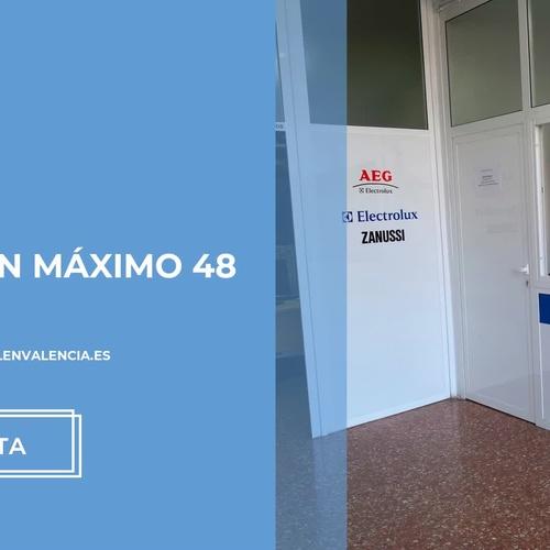 Servicio técnico AEG en Valencia