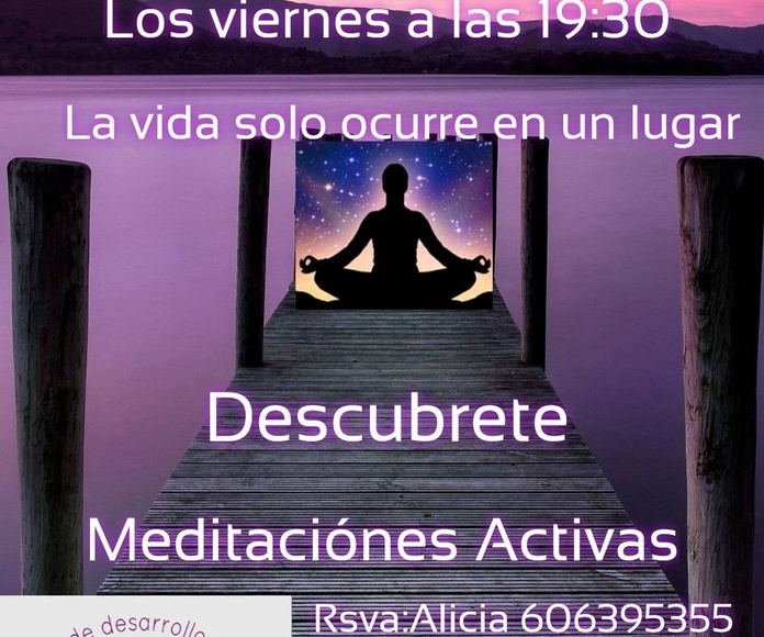 MEDITACIONES ACTIVAS EN MADRID