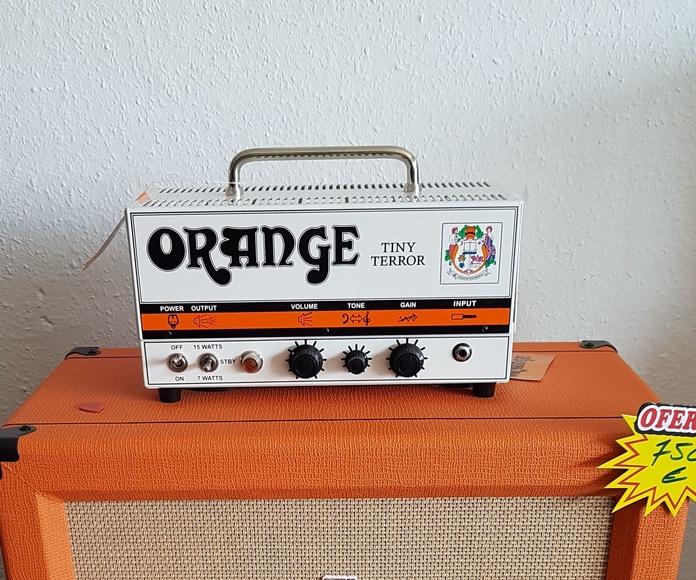 Amplificador a válvulas de guitarra eléctrica Orange Tiny Terror con Pantalla PPC112 oferta