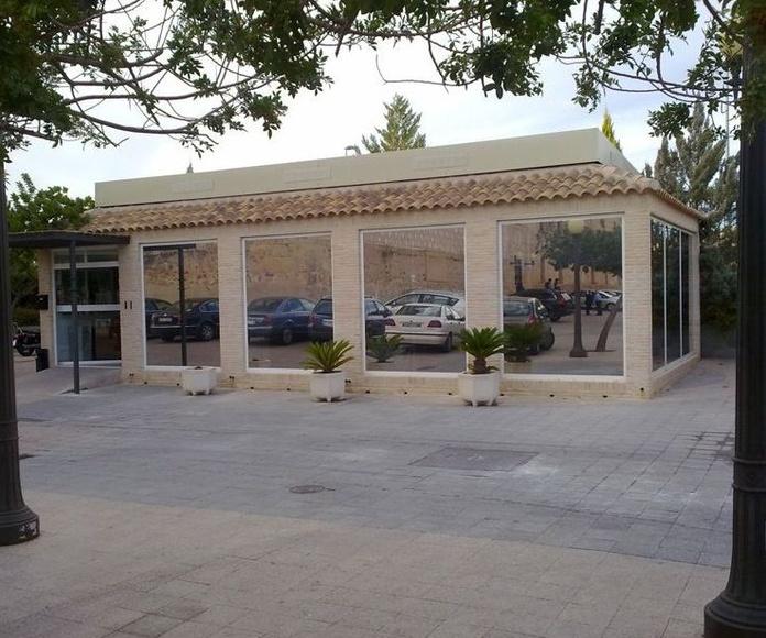 Láminas para terraza: Productos of Solargar diseño y protección solar