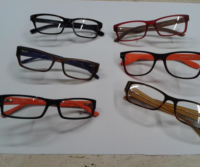 monturas de gafas