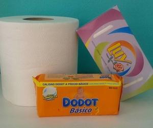 Suministro de manteles, bobinas de papel, servilleteros...
