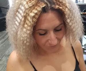 peinado afro años 90