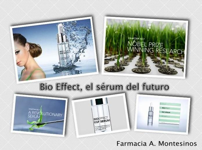El sérum del futuro: BIOEFFECT EGF
