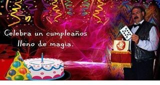 Mago fiestas de cumpleaños Zaragoza
